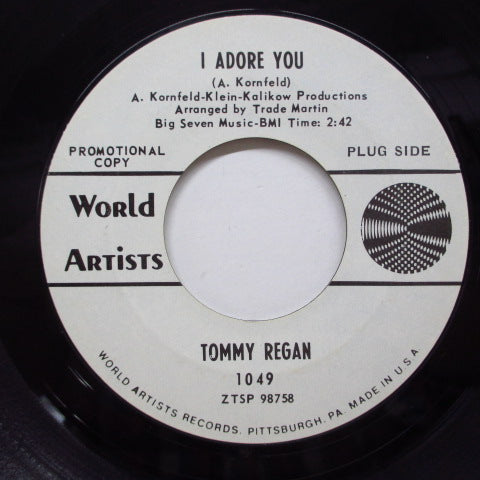 TOMMY REGAN - I Adore You (Promo)