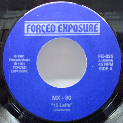 MX-80 SOUND - 15 Laffs (US Orig.)