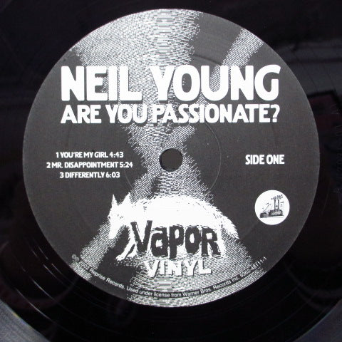 NEIL YOUNG - Are You Passionate ? (GERMAN:2002 Limited Press 2xLP/GS)