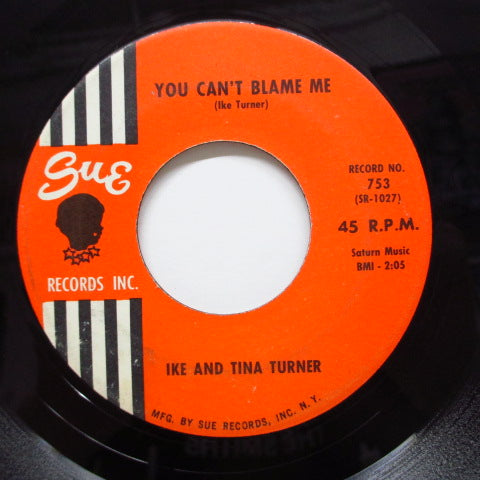 IKE & TINA TURNER - Poor Fool / You Can't Blame Me