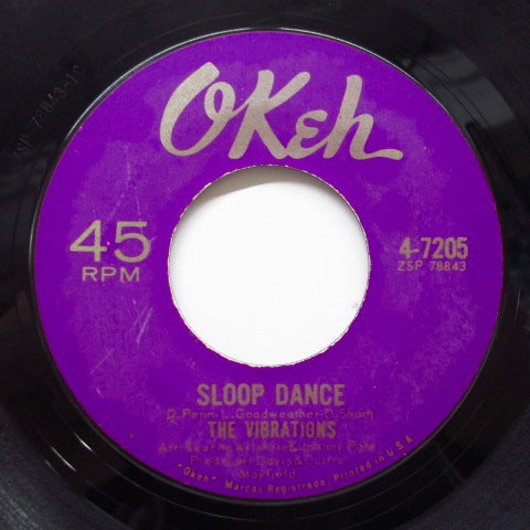 VIBRATIONS - Sloop Dance / Watusi Time (Orig)