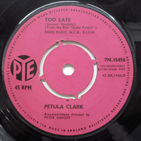 PETULA CLARK - Jumble Sale  (UK Orig)