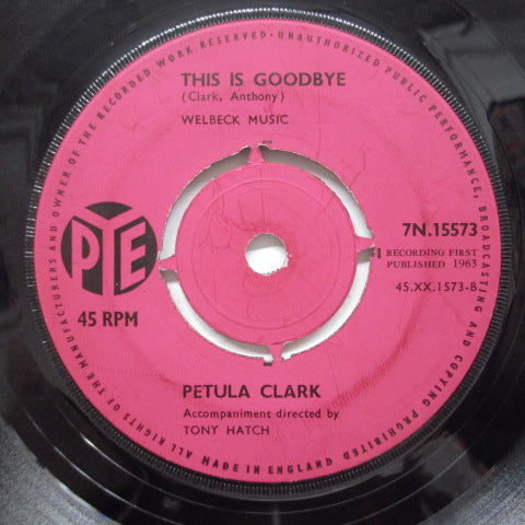 PETULA CLARK - Baby It's Me (UK Orig/Round Center)