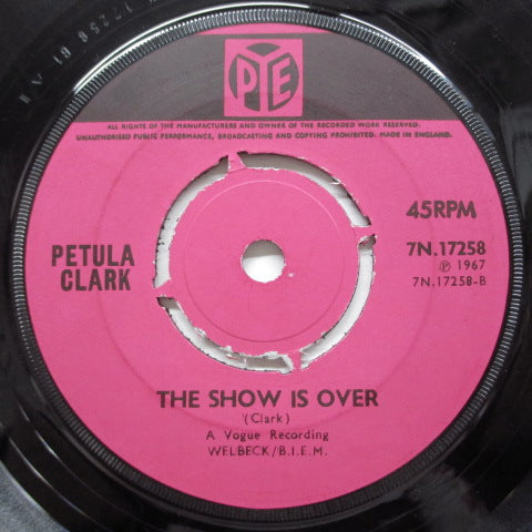 PETULA CLARK - This Is My Song (UK Orig/Round Center)