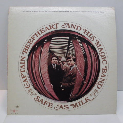 CAPTAIN BEEFHEART - Safe As Milk (US:70's Reissue)