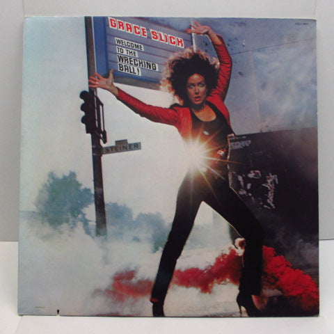 GRACE SLICK (グレイス・スリック)  - Welcome To The Wrecking Ball ! (US Orig.LP)