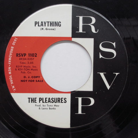 PLEASURES - Plaything (US Promo)