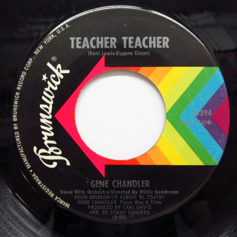 GENE CHANDLER - Teacher Teacher (Orig)