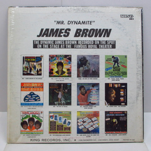 JAMES BROWN - Pure Dynamite!(US '66 Re Stereo LP)