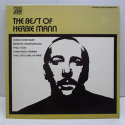 HERBIE MANN - The Best Of Herbie Mann (UK 80's Reissue Stereo)