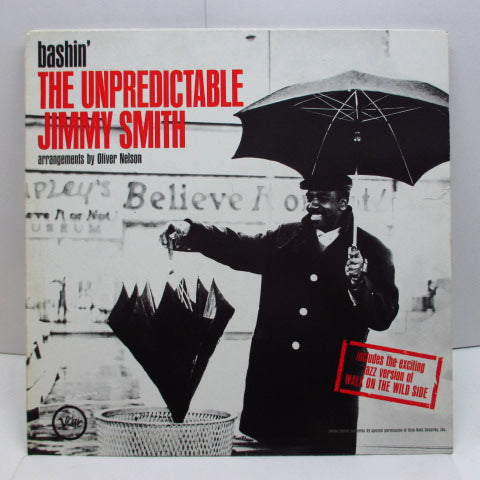JIMMY SMITH - Bashin' The Unpredictable (GERMAN RE Stereo/Barcode)