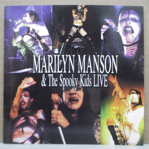 MARILYN MANSON & THE SPOOKY KIDS - Live (Unofficial.Enhanced CD)