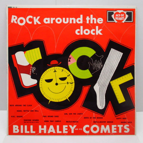 BILL HALEY & HIS COMETS - Rock Around The Clock (UK '61 Re Mono LP/CS)