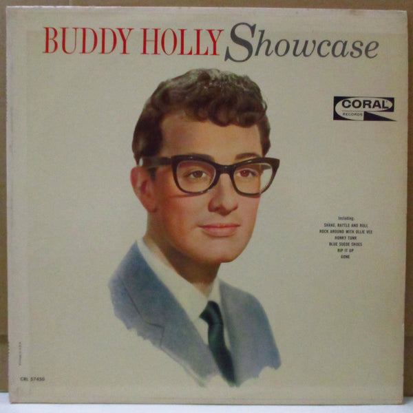 BUDDY HOLLY - Showcase (US Orig.Mono LP)