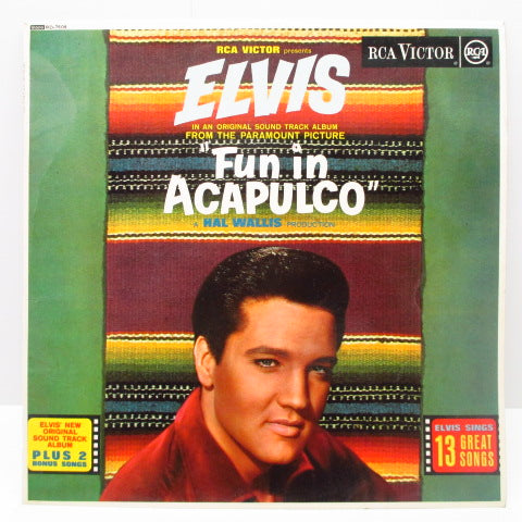 ELVIS PRESLEY - Fun In Acapulco (UK 60's Re Mono LP/CS)