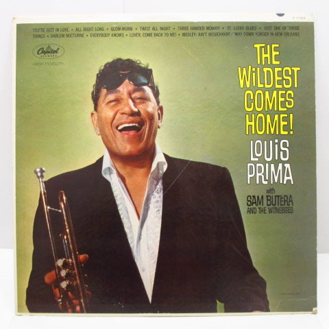 LOUIS PRIMA - The Wildest Comes Home! (US Orig.Mono LP)