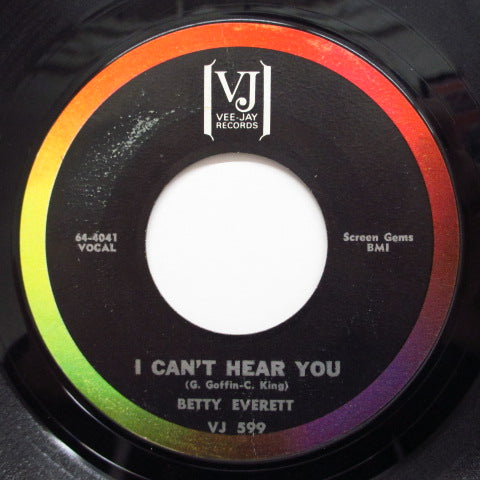 BETTY EVERETT - I Can't Hear You ('64 Orig.)