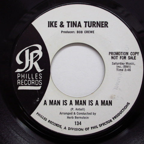 IKE & TINA TURNER - A Man Is A Man Is A Man (Promo)