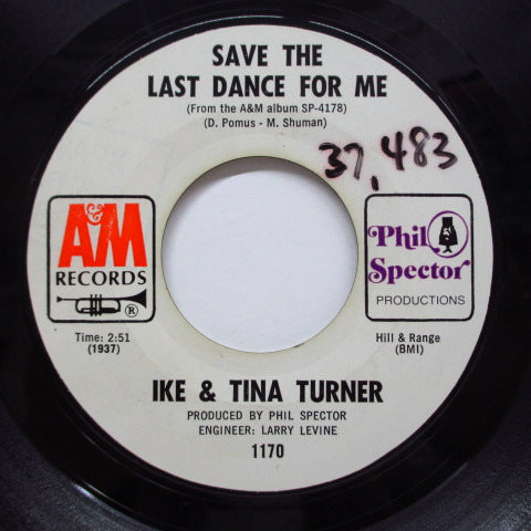 IKE & TINA TURNER - A Love Like Yours (US/Promo)