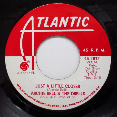 ARCHIE BELL & THE DRELLS - I Love My Baby (Promo)