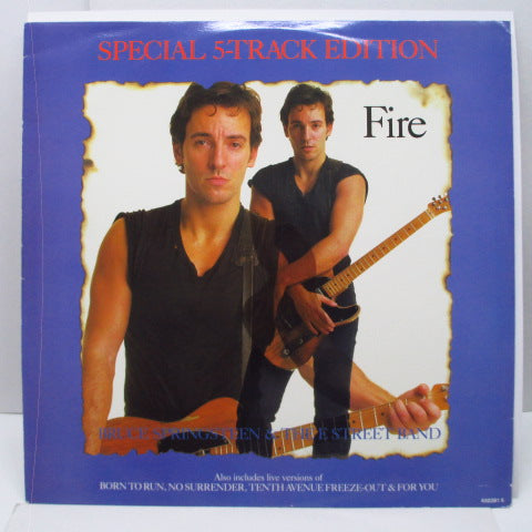 "BRUCE SPRINGSTEEN & The E Street Band (ブルース・スプリングスティーン)  - Fire +4 (UK Orig.12"")"