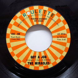 MIRACLES (SMOKEY ROBINSON & THE) - Got A Job / I Cry (70's Reissue)