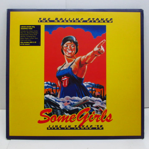 ROLLING STONES - Some Girls Live In Texas '78 (EU '12 Orig.2xLP etc.Pack)