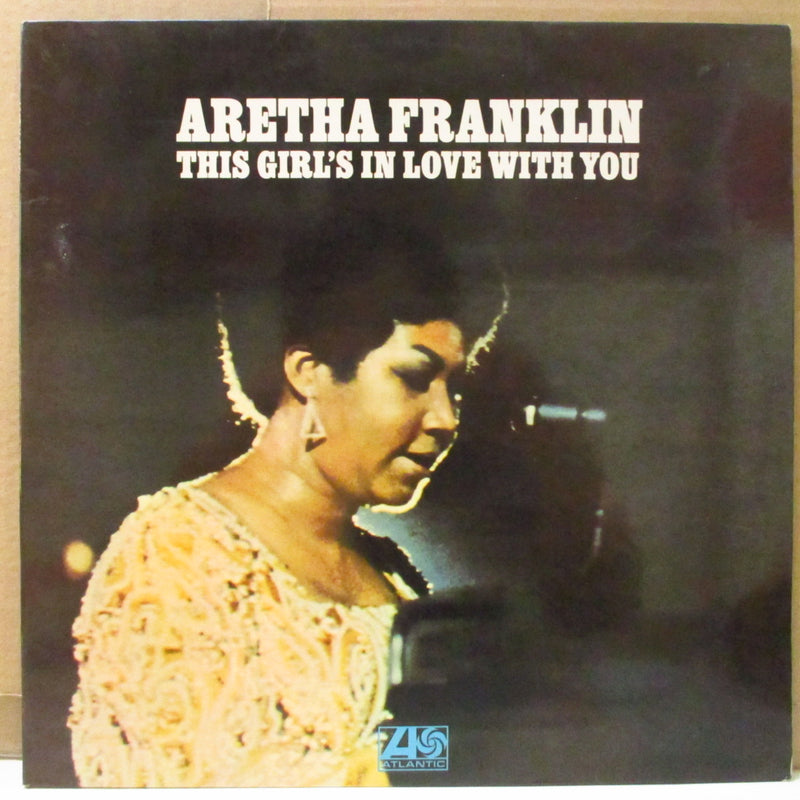 ARETHA FRANKLIN (アレサ・フランクリン)  - This Girl's In Love With You (UK Orig.Stereo LP/両面CS)