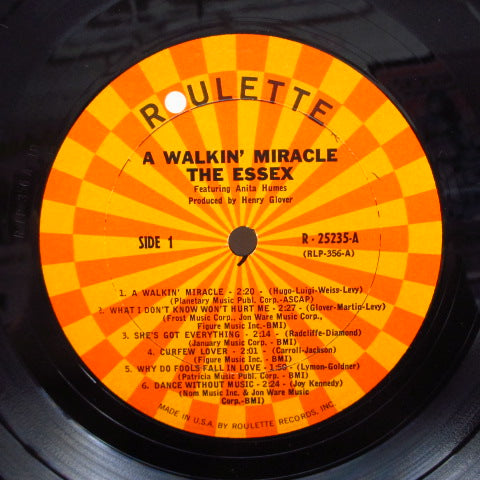 ESSEX - A Walkin' Miracle (US Orig.Mono LP)