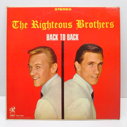 RIGHTEOUS BROTHERS - Back To Back (US Capitol Record Club STEREO)