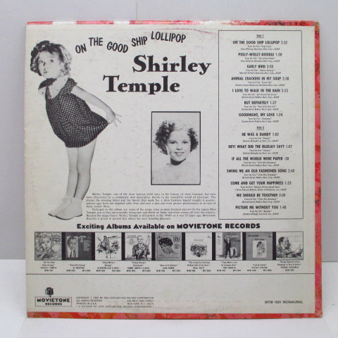 SHIRLEY TEMPLE-On The Good Ship Lollipop