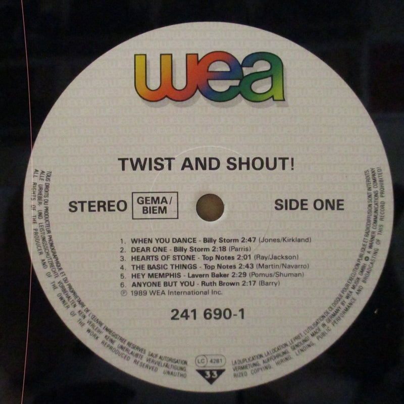 V.A. (フィル・スペクター)  - Twist & Shout (German Orig.LP/GS)
