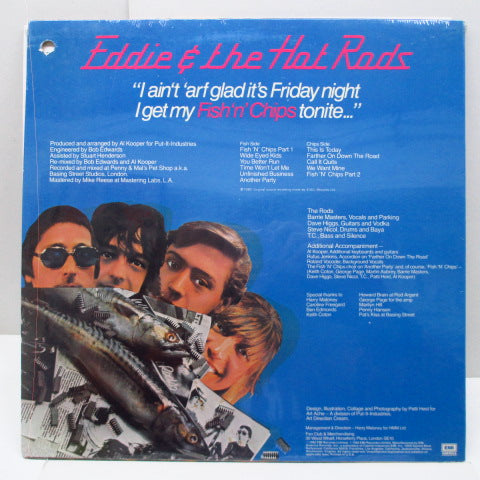 EDDIE AND THE HOT RODS - Fish 'N' Chips (US Orig.LP)