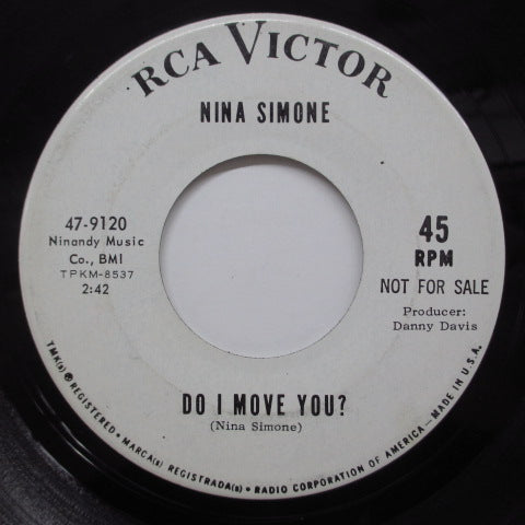 NINA SIMONE - Day And Night (US Promo)