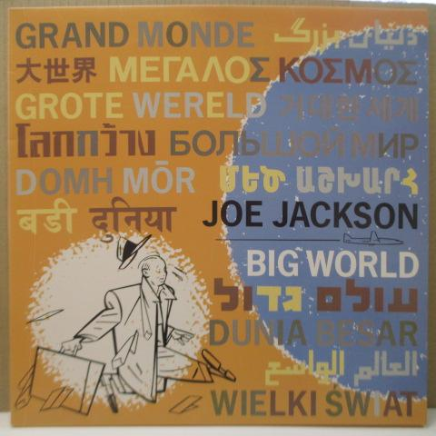 JOE JACKSON - Big World (Japan Orig.2 x LP)