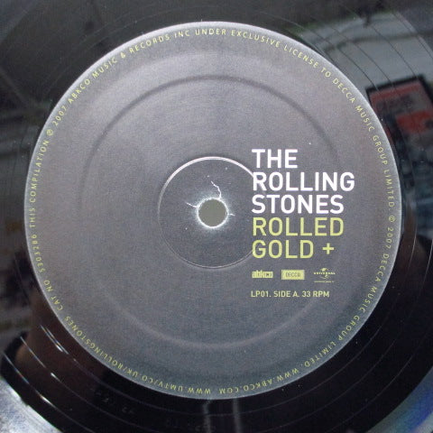 ROLLING STONES - Rolled Gold + The Very Best Of The Rolling Stones (EURO Orig.4xLP/GS)