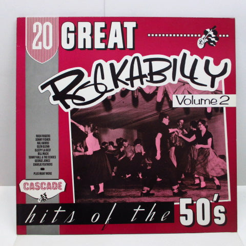 V.A. - 20 Great Rockbilly Hits Of The 50's Vol.2 (UK Orig.Mono LP)