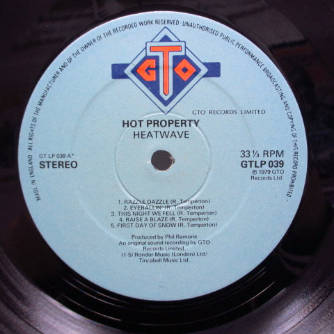 HEATWAVE-Hot Property (UK Orig.)