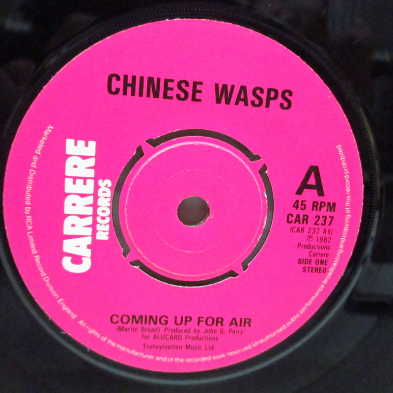 "CHINESE WASPS - Coming Up For Air (UK Orig.7"")"