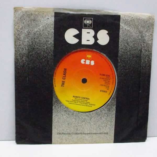 "CLASH, THE - Remote Control (UK Orig.7""/S CBS 5293/NOPS)"