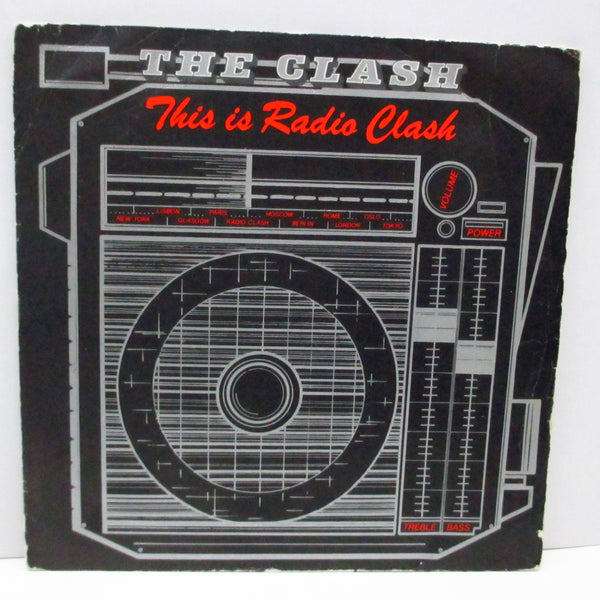 "CLASH, THE - This Is Radio Clash (Spain Orig.7"")"