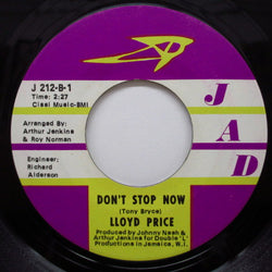LLOYD PRICE - Don't Stop Now / The Truth