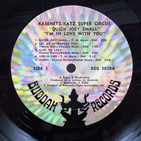 KASENETZ-KATZ SUPER CIRCUS - Quick Joey Small-I'm In Love With You (US Orig.LP)