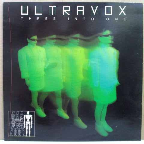 ULTRAVOX - Three Into One (UK 80's Reissue LP/Color Lbl.)
