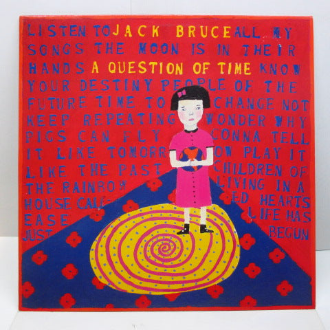 JACK BRUCE - A Question Of Time (UK Orig.)