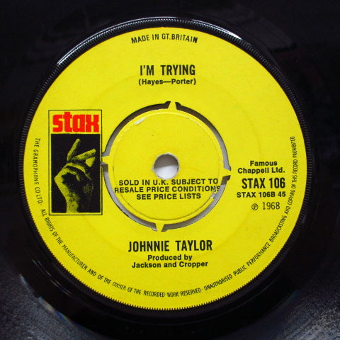 JOHNNIE TAYLOR - Who's Making Love (UK Orig)