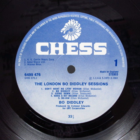 BO DIDDLEY - The London Bo Diddley Sessions (UK Orig.LP)