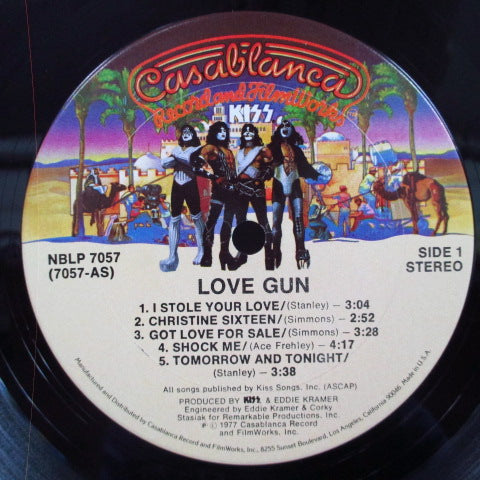 KISS - Love Gun(US Orig.LP)