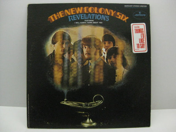 NEW COLONY SIX - Revelations(US Promo Stereo LP/Stickered CVR)