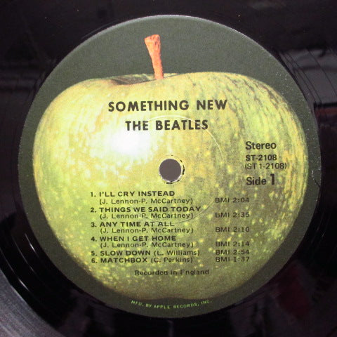BEATLES - Something New (US:'71 Apple Re STEREO)